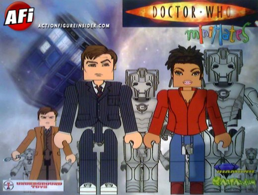 Doctor Who Minimates