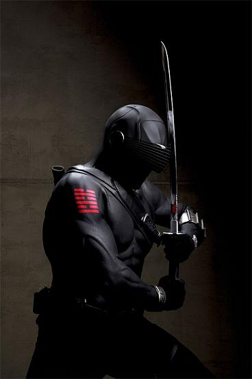 Ray Park as Snake Eyes