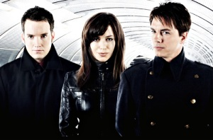 The Primary cast of Torchwood featuring John Barrowman