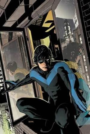 Dick Grayson as Nightwing, drawn by Ryan Sook