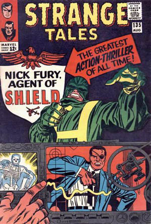 Enter the new Nick Fury, super spy!