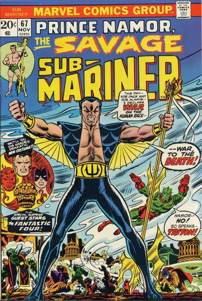 The Savage Sub-Mariner