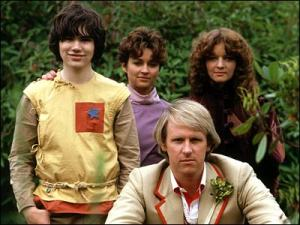 The Fifth Doctor and his crack team of bumbling teens