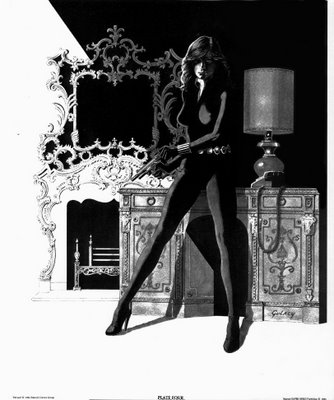 Black Widow by the genius Paul Gulacy