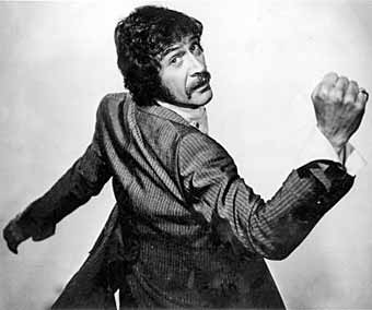 Peter Wyngarde is Jason King