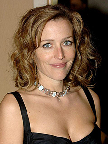 The enticing Gillian Anderson