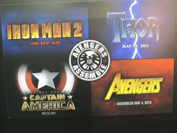 the road to the Avengers is paved and ready