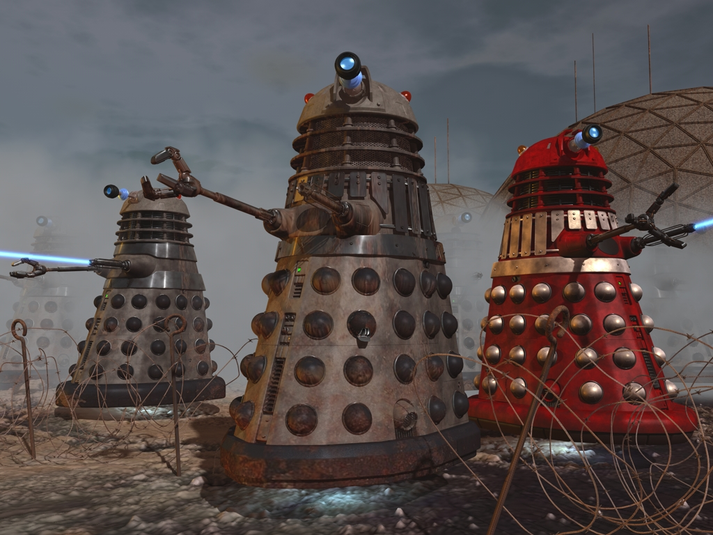The new dalek paradigm and beyond the daily p o p for Design attack