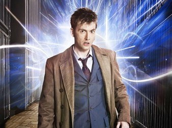 David Tennant stars into the unknowable future of laser light shows
