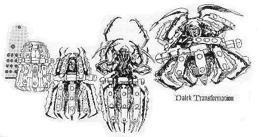 Spider Dalek Concept
