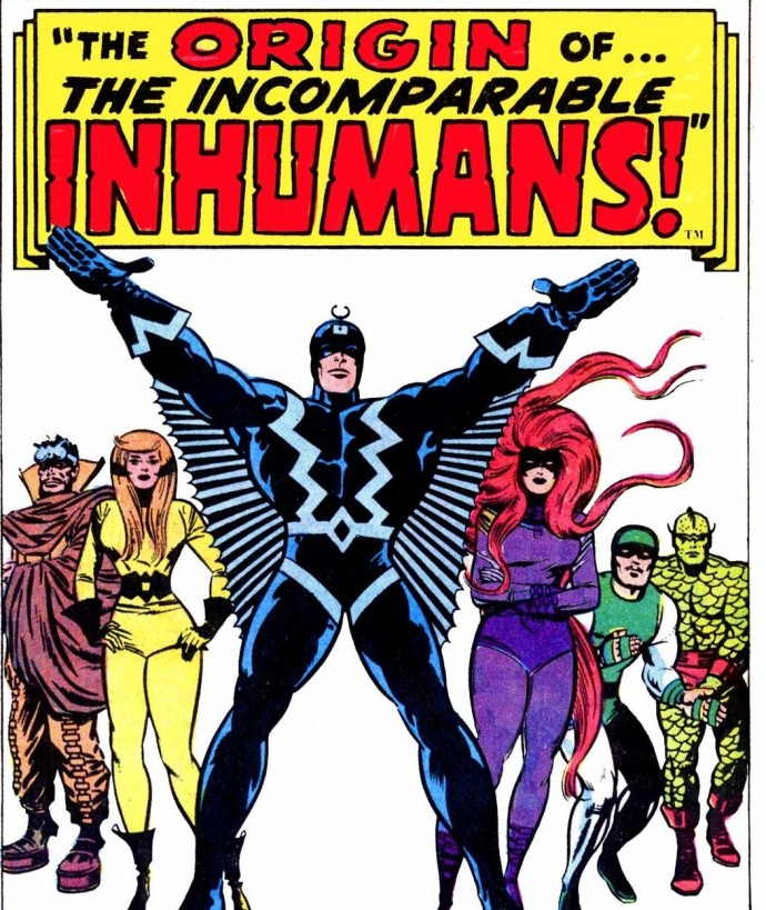 The Inhumans by Jack Kirby