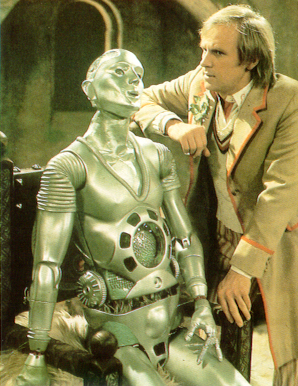 Kamelion and the Doctor (Peter Davison)