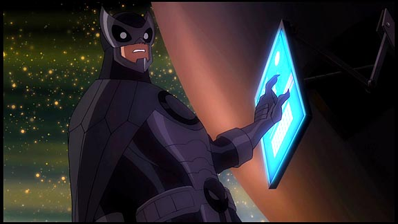 Owlman (voiced by James Woods)