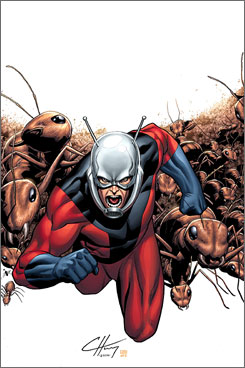 Hank Pym- the original Ant Man