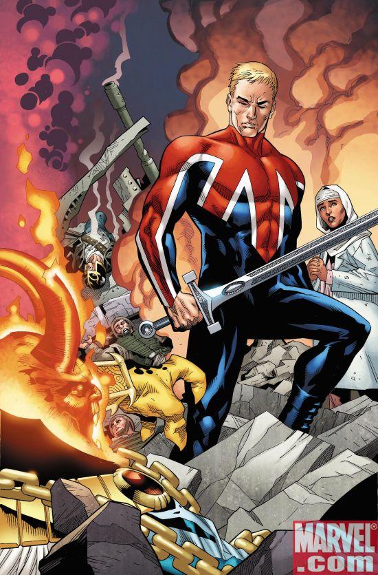 Religious polarity and symbolism in comics Captainbritainmi13_031