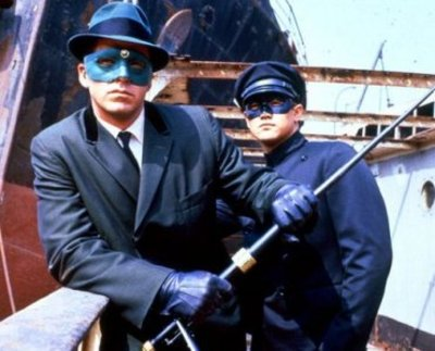 Green Hornet (Van Williams) and Kato (Bruce Lee)