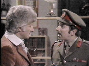 The Doctor and the Brigadier