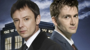 The Master (John Simm) and the Doctor (David Tennant)