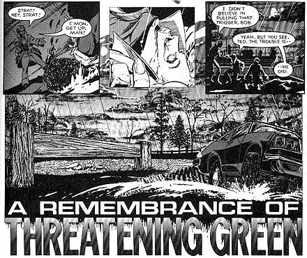 Detecrives Inc. - A Remembrance of Threatening Green