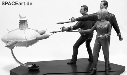 A very rare Space Patrol Orion diorama