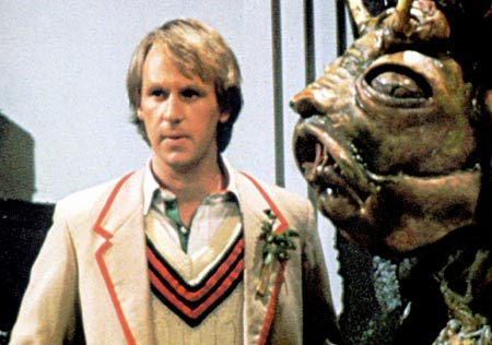 Peter Davison tries to stay calm