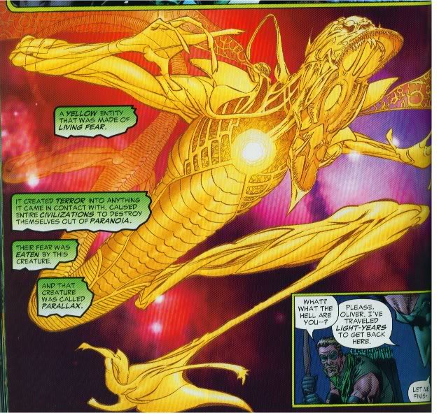 Parallax from Green Lantern: Rebirth
