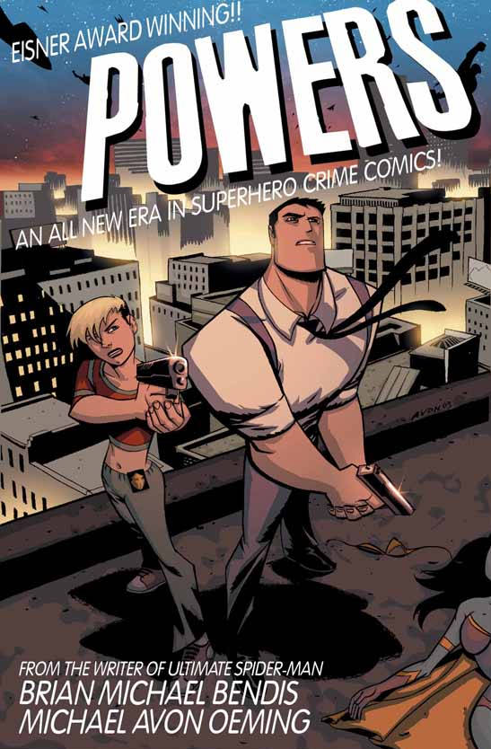 powers is finally becoming a tv show books comics tv music