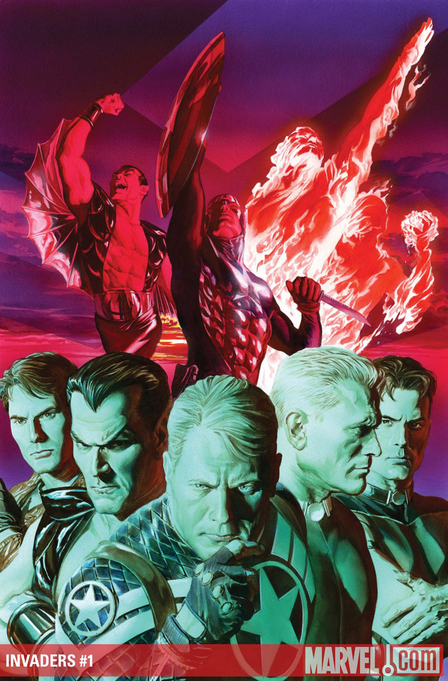 The Invaders Return This September From Dynamite Marvel Comics