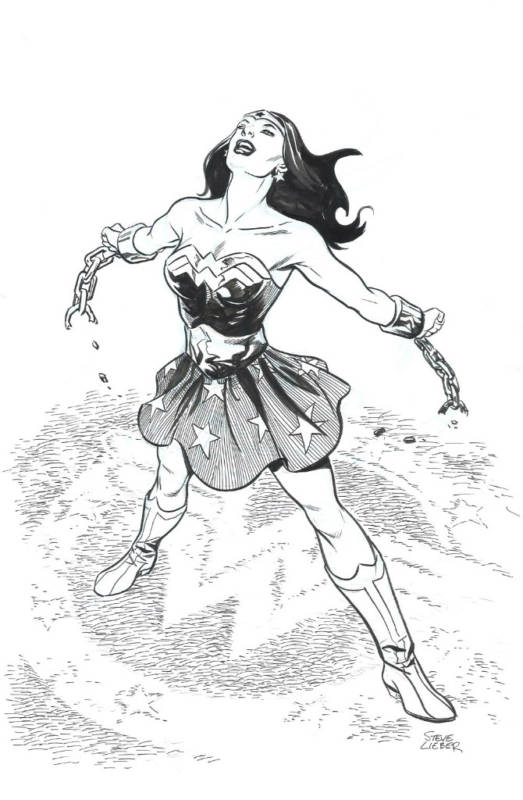 Wonder Woman Day Steve Lieber