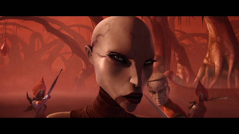 Asajj Ventress returns in Star Wars The Clone Wars: 'Nightsisters'