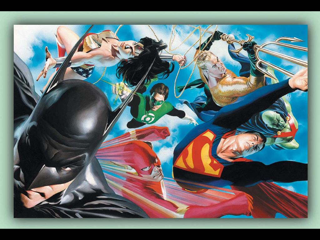Alex ross justice league does