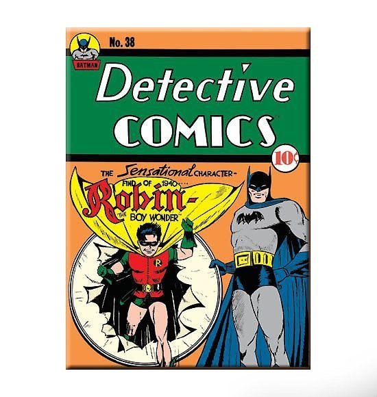 Robin's First Appearance