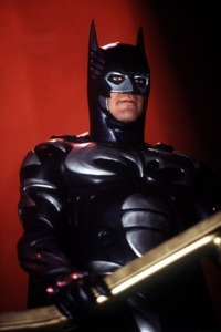 George Clooney in Batman and Robin