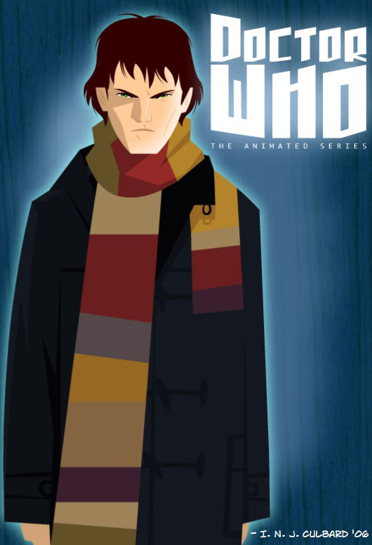 Doctor Who The Animated Series The Daily P O P