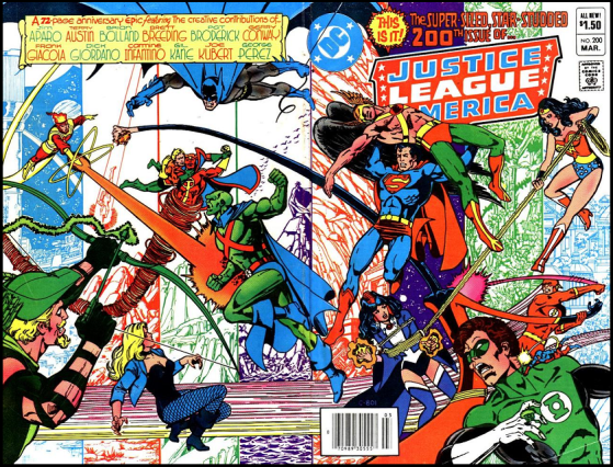 JUSTICE LEAGUE OF AMERICA_200_George Perez