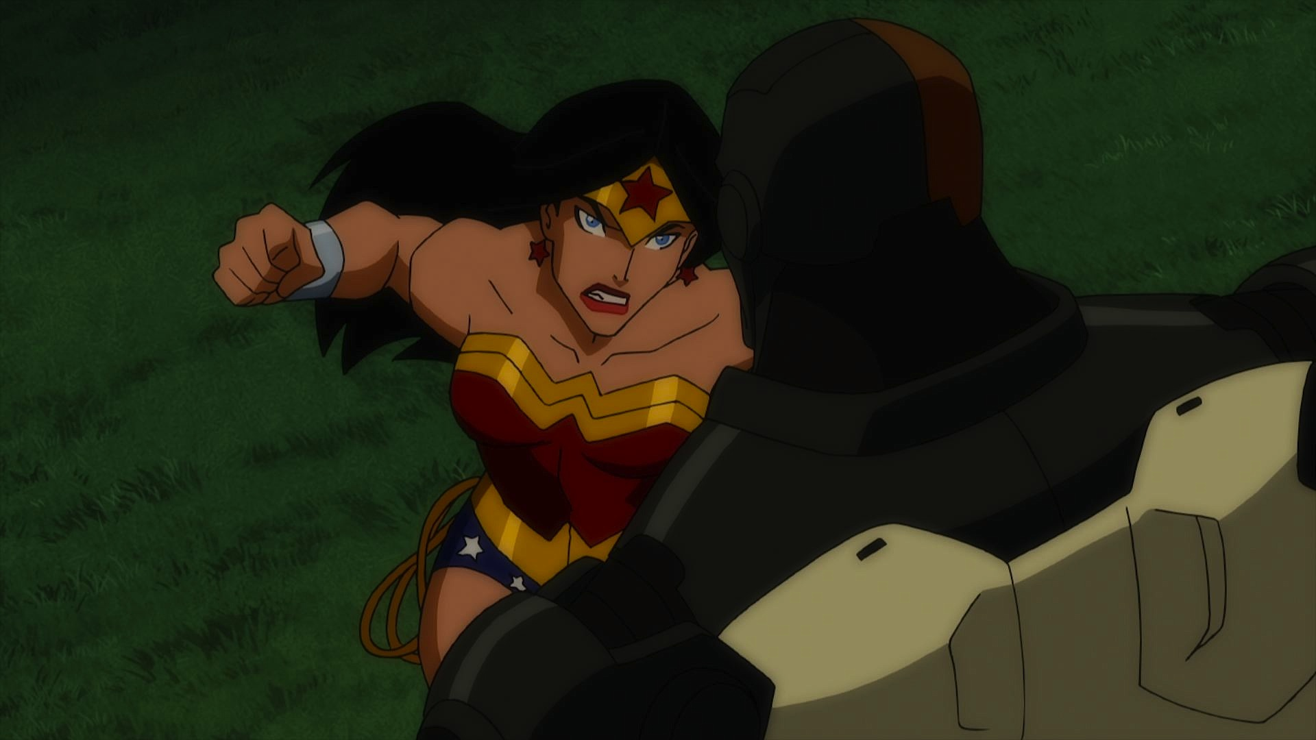 Wonder Woman Beaten Justice League Susan Eisenberg...