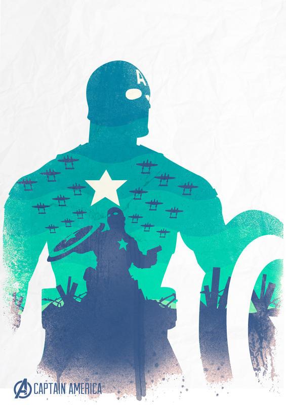 Avengers - Captain America_Poster