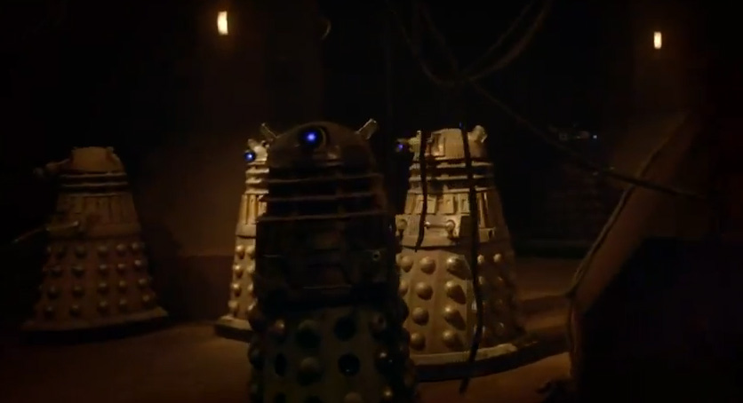 The Daleks have taken over the asylum