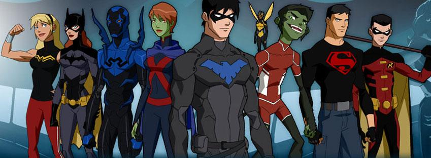 Young Justice | The Daily P.O.P.