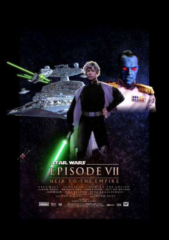 Fan poster to Star Wars: Heir to the Empire