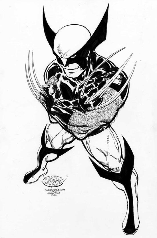 Wolverine_Byrne_BW