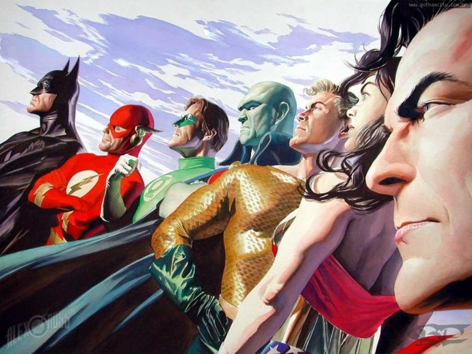 The JLA by Alex Ross