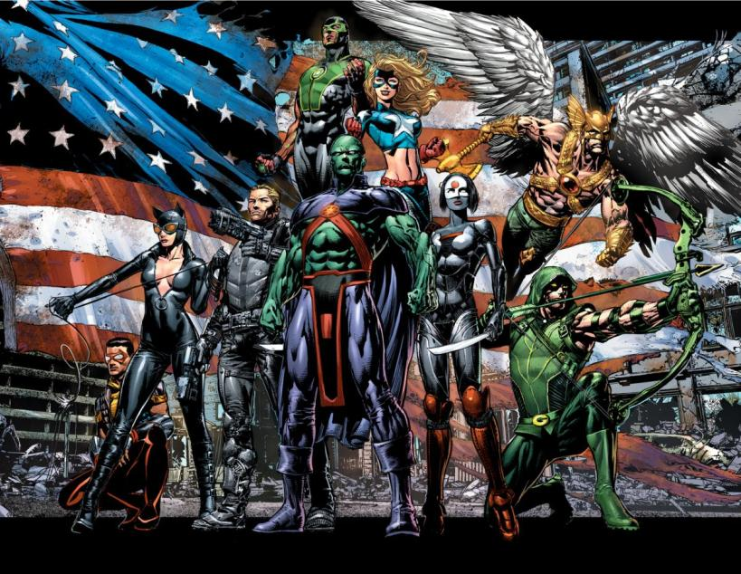 JLA by David Finch