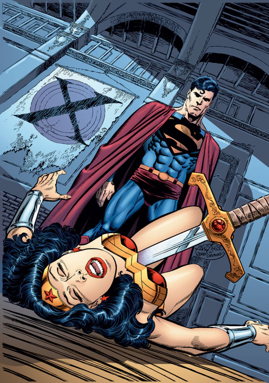 Superman will kill Wonder Woman in an upcoming issue