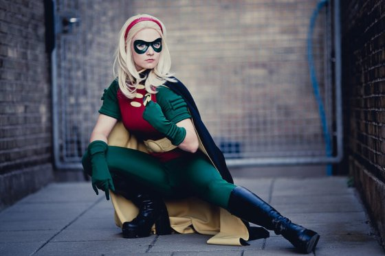 Stephanie Brown cosplay by Aigue-Marine