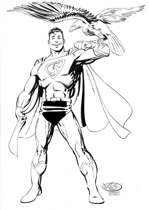 Superman_Byrne_eagle