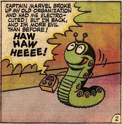 Image result for mister mind dc comics