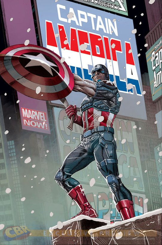 Captain America Pacheco