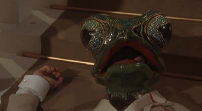 phibes 1 death by frog mask