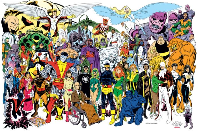 Byrne-X-men-Montage-Small